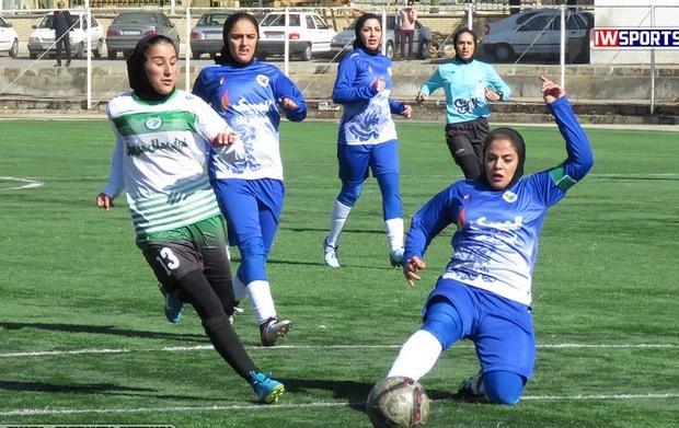 تیم خلیج فارس شیراز در لیگ برتر فوتبال بانوان متحمل شکست شد