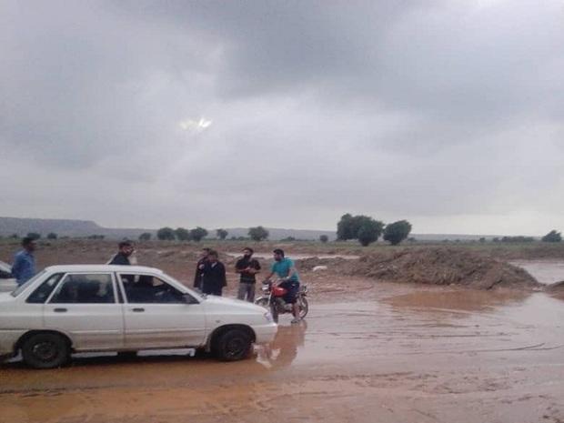 راه ارتباطی هشت روستای گتوند بازگشایی شد