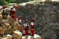 نجات 2 کوهنورد مفقود شده در کوههای بیدخون عسلویه