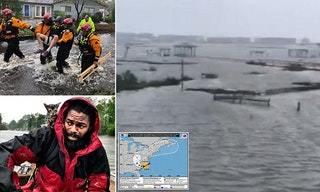 طوفان بزرگ در آمریکا 13 قربانی گرفت+ تصاویر