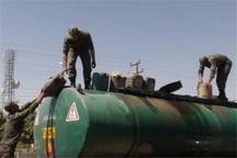تریلی حامل 32 گازوئیل قاچاق در بجستان توقیف شد
