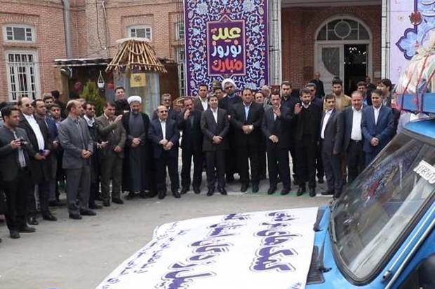 طلایه داری آذربایجان غربی در کمک به سیل زدگان