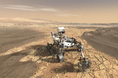 کشف خارق العاده دانشمندان در مریخ/ عکس