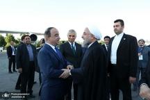 روحانی تاجیکستان را به مقصد کشورمان ترک کرد