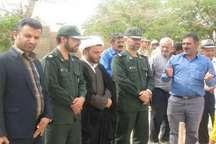 عملیات اجرای یساخت مسجد روستای ملارد از توابع شهرستان زرندیه آغاز شد