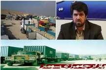 سرپرست فرمانداری گیلانغرب: صادرات کالا از بازارچه سومار روند عادی دارد