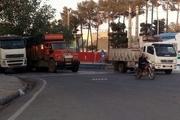 شاهراه 18 استان با روزی 18 هزار تردد کامیون، بدون کمربندی
