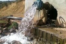آب روستاهای خورده چشمه و سامان چرداول تامین می شود