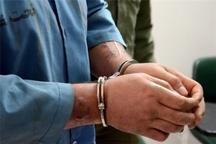 دستگیری سارق زورگیر در کلاردشت