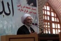 امام جمعه نمین: سال 97 سال عزت نظام اسلامی است