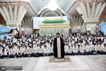 جشن عبادت دانش آموزان منطقه 19 شهر تهران در حرم امام خمینی (س)