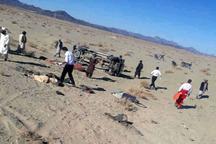 واژگونی خودروی اتباع بیگانه در سراوان 16مصدوم برجا گذاشت