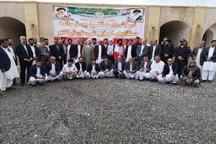 نمایشگاه دستاوردهای انقلاب اسلامی در ایرانشهر افتتاح شد