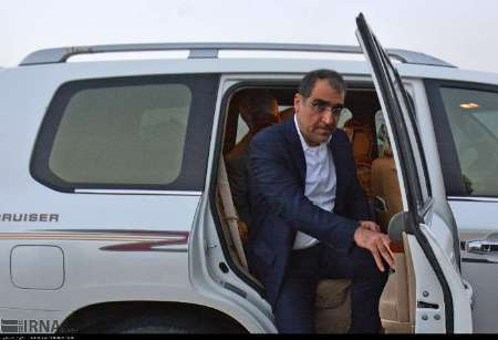 وزیر بهداشت درمان و آموزش پزشکی برای ششمین بار وارد زاهدان شد