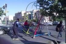 وداع با رویای کودکانه در کوچه پسکوچه های شهر   چرخ فلک های مکانیکی سیار جمع آوری می شود