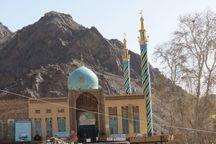 ۲ دهه آبادانی در امامزاده سلیمان علی