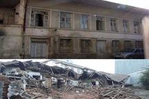 خانه تاریخی شبان در محله چله خانه رشت فروریخت