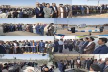 افتتاح و آغاز عملیات 27 طرح عمرانی، خدماتی در خور و بیابانک
