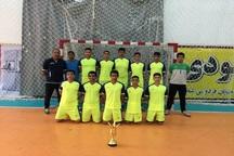 گچساران قهرمان مسابقات هندبال مدارس کهگیلویه و بویراحمد شد