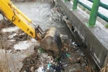 پل رودخانه سرخه حصار ری بازگشایی و لایروبی شد