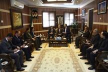 تاکید بر ۲۴ساعته شدن گمرک پلدشت در دیدار وزیر اقتصاد نخجوان با استاندار آذربایجانغربی