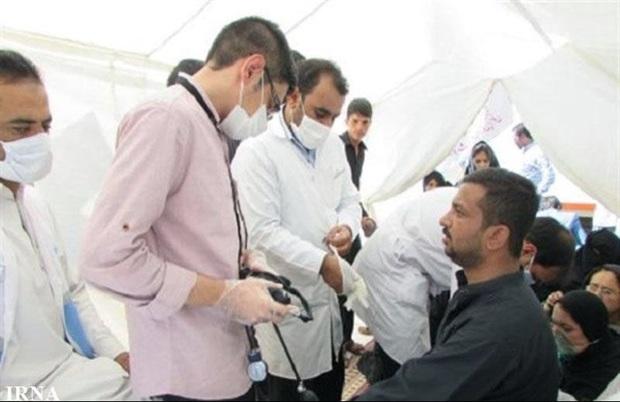 هزار نفر از مردم بخش قرقری هیرمند خدمات سلامت دریافت کردند
