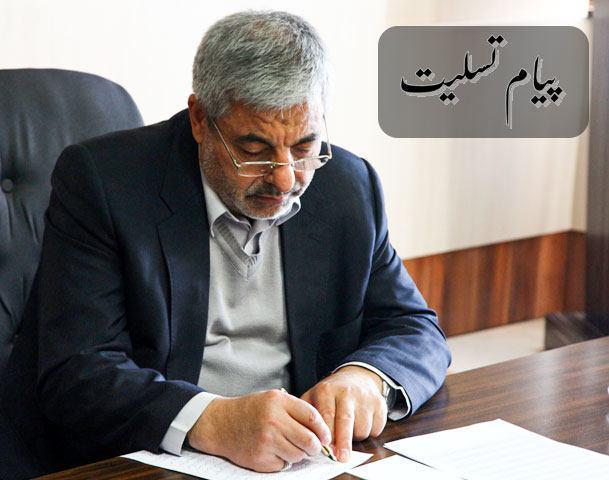 استاندار آذربایجان غربی شهادت شهید یاسین قنبری را تسلیت گفت