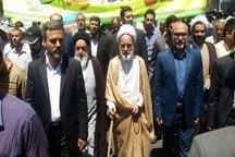 روز قدس نماد حمایت همه جانبه ملت ایران از جهان اسلام است