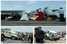 مرگ چهار نفر بر اثر وقوع 2 تصادف رانندگی در جاده زنجان - خرمدره