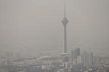 هوای پایتخت در شرایط ناسالم برای گروه های حساس قرار دارد