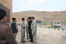 بازدید فرمانده یگان حفاظت سازمان حفاظت محیط زیست کشور از پاسگاههای محیط بانی لرستان