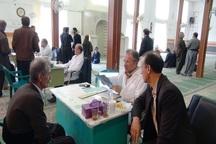 کمیسیون پزشکی مصدومان شیمیایی نودشه برگزار شد