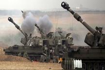 حمله خمپارهای ارتش اسرائیل به مرکز نوار غزه