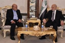 سفیر ایران در عراق استوارنامه خود را تقدیم ابراهیم جعفری کرد