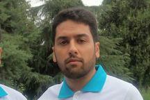 داور جوان بهابادی مسابقات فوتسال کشور را قضاوت می کند
