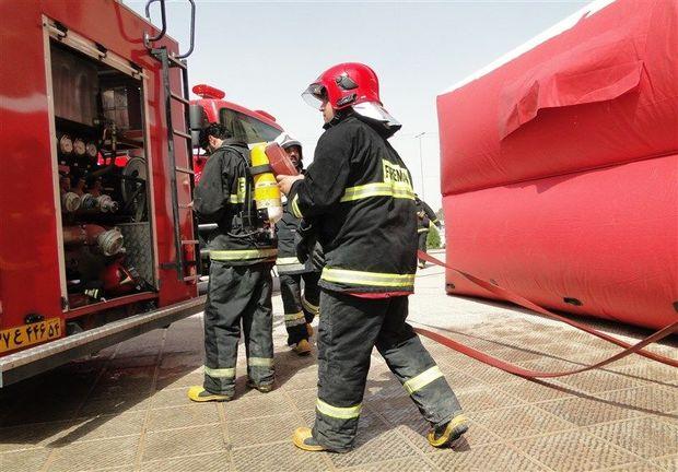 ۱۶۰ آتشنشان زاهدانی ویژه ایام محرم در آماده باش کامل هستند