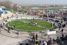 مسابقات کشتی باچوخه جام جمهوری اسلامی در شیروان آغاز شد