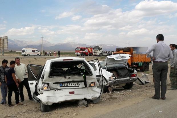 سوانح رانندگی نوروز در دامغان پنج فوتی و 75 مجروح داشت