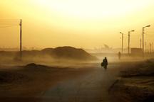 سرعت وزش باد در زاهدان به 60 کیلومتر بر ساعت میرسد