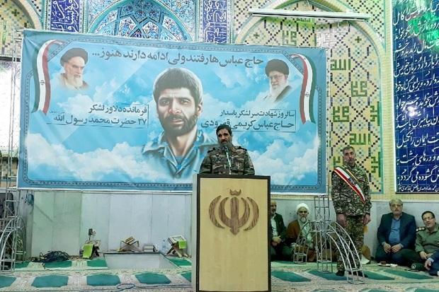 خون شهیدان ضامن بقای نظام اسلامی است