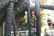 آتش سوزی ساختمانی در بازار تهران مهار شد