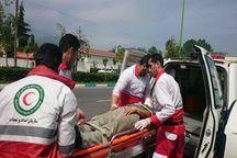امداد رسانی به ۱۱ مصدوم در قزوین