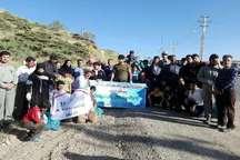 فعالان محیط زیست پاوه روستای گردشگری شمشیر را پاکسازی کردند