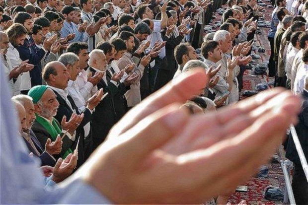 نماز عید سعید فطر در33 بقعه متبرکه البرز برگزار می شود