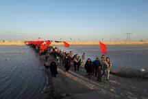 مرزبانان خوزستان برای پذیرایی از کاروان های راهیان نور آماده شدند