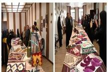 برپایی نمایشگاه توانمندیهای هنرمندان و صنعتگران صنایع دستی در روستای قشلاق