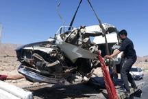 تصادف در محور شیراز - جهرم یک کشته داشت