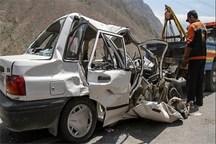 واژگونی پراید در آزادراه ساوه - همدان جان 1 نفر را گرفت