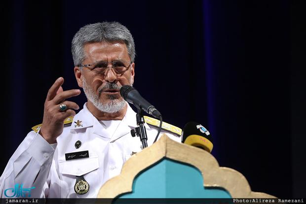 امیر دریادار سیاری: امنیت در مرزهای ایران برقرار است