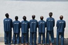 7 سارق حرفه ای منزل و خانه باغ در بوکان دستگیر شدند
